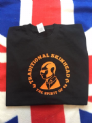 TRADITIONAL SKINHEAD BLACK & ORANGE